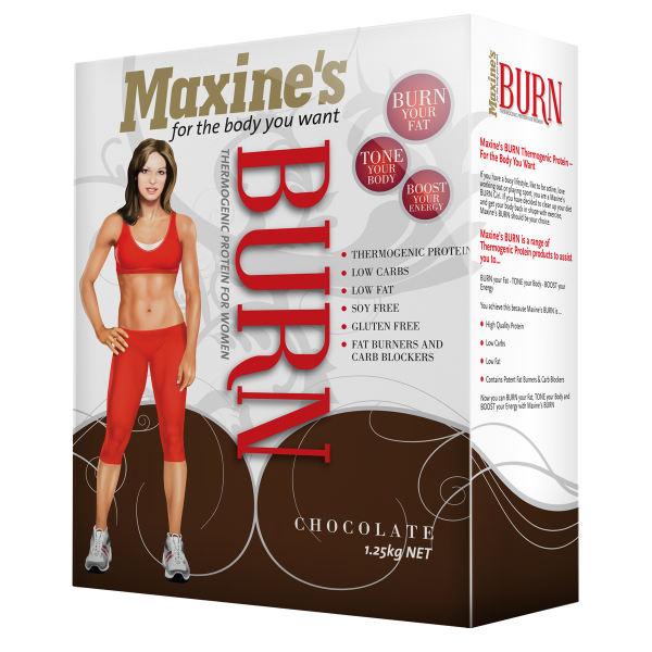 Maxine's Burn Thermogenic Protein Shakes