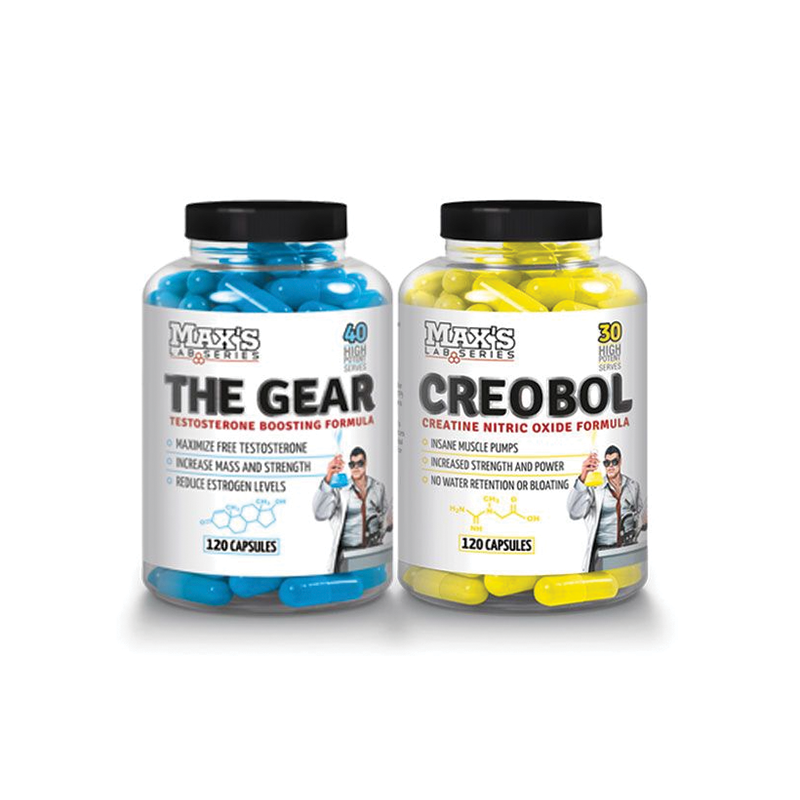 Max's Lab Series The Gear + Creobol