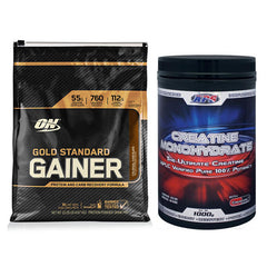 Optimum Nutrition Gold Standard Gainer + APS Creatine Monohydrate