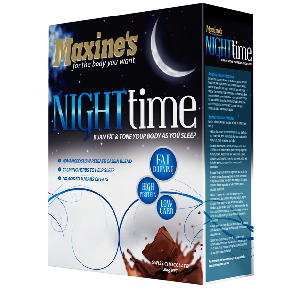Maxine's Night Time Vanilla (1KG) **ORIGINAL PACKAGING**