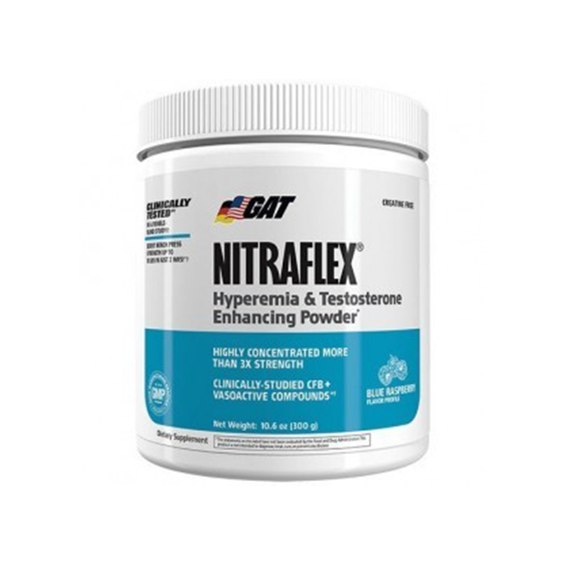 NITRAFLEX by GAT Pre-Workout *CREATINE FREE* (30 serve)