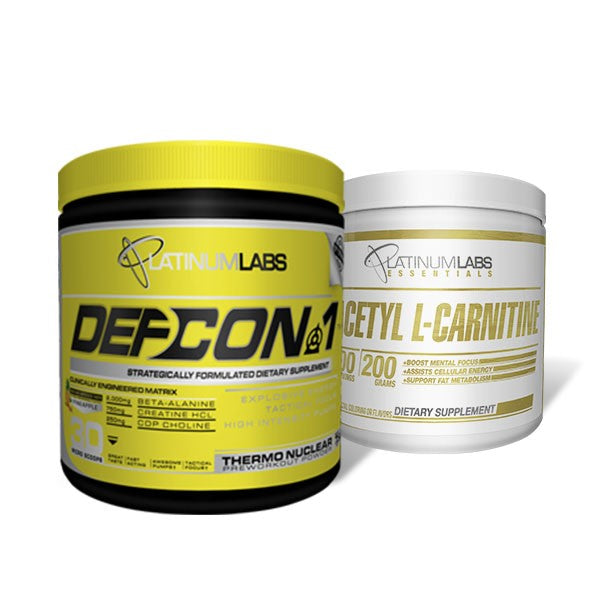 Platinum Labs Tactical Focus Stack: Defcon 1 + Acetyl L-Carnitine