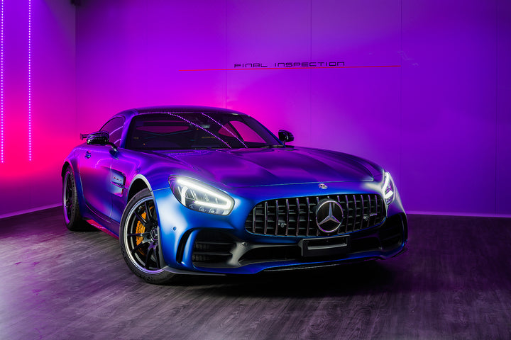 Mercedes-Benz : 2020 AMG GTR : Magno Blue : Rejuvenation Detail