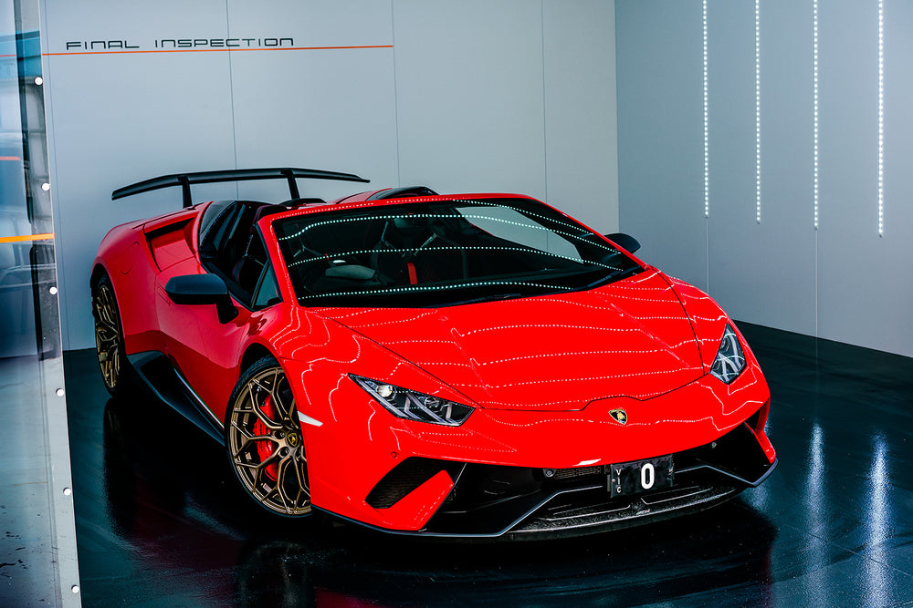 Lamborghini Huracán Performante  Red  Rejuvenation Detail