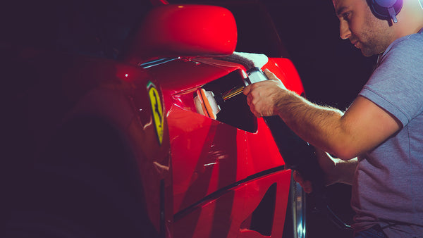 Damian Ferrari F40 Paint Correction