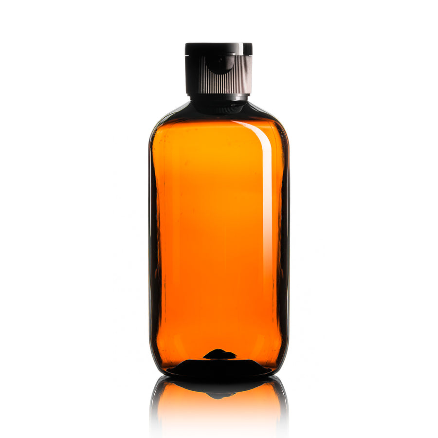 250ml (8.5 fl oz)Amber Bottle w/ Pop-Top