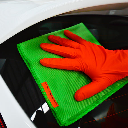 Orange Safety Gloves