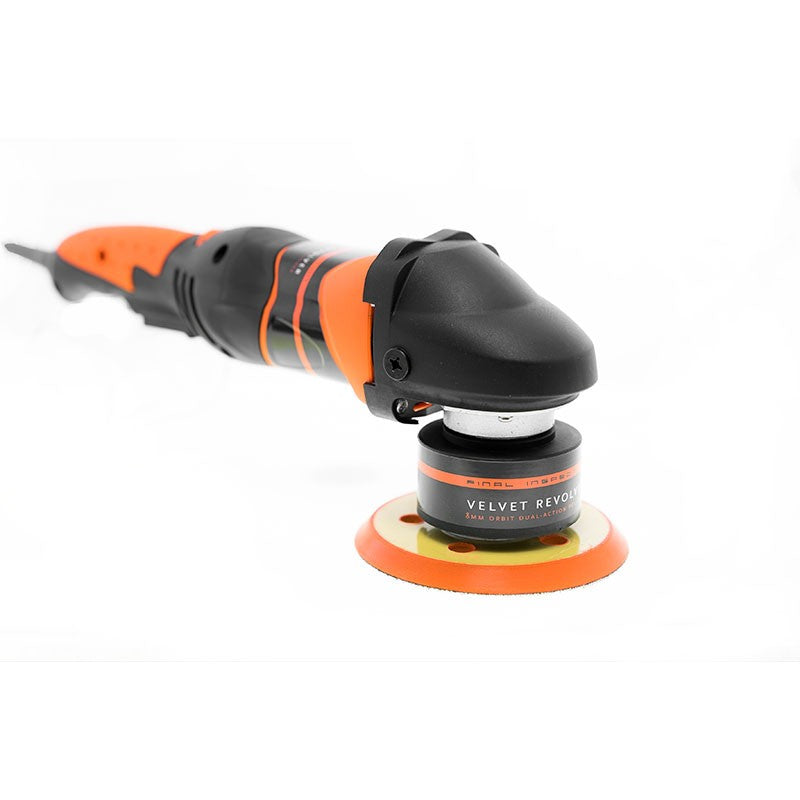 Velvet Revolver 8mm orbit dual-action polisher