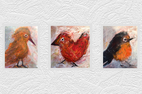 Susan Woodson Bird Paintings