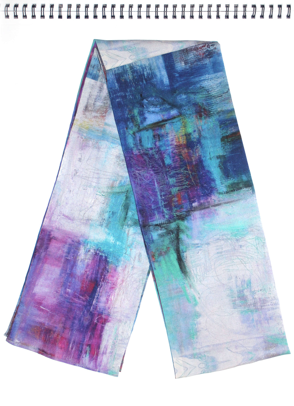 New York Scarf,Susan Woodson - Moondog Fine Arts