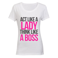 Act like a Lady, Think like a Boss! BuyAbility SA