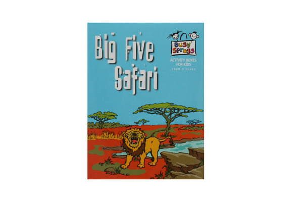 Big Five Safari, Activity Box - BuyAbility South Africa