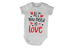 All You Need is Love - Valentine - Baby Grow - BuyAbility South Africa