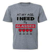 At My Age, I Need My Glasses! - Kids T-Shirt - BuyAbility South Africa