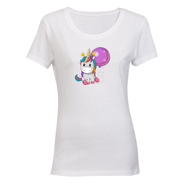 Balloon Unicorn - Ladies - T-Shirt - BuyAbility South Africa
