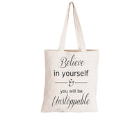 Believe in Yourself - Eco-Cotton Natural Fibre Bag - BuyAbility South Africa