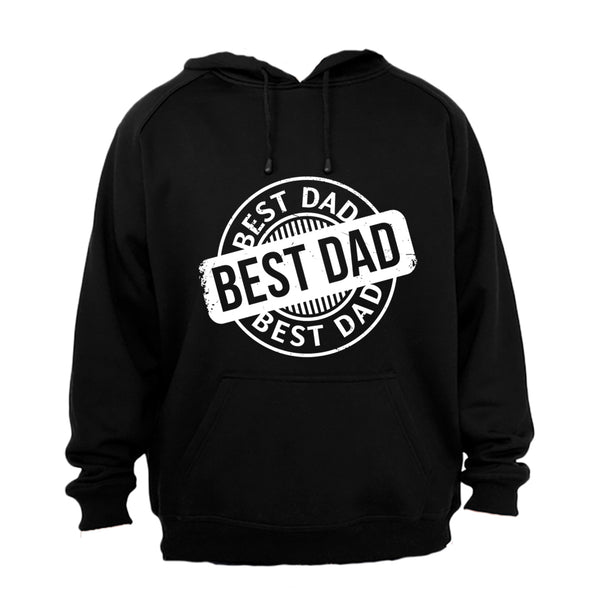 Best Dad - Circular - Hoodie - BuyAbility South Africa