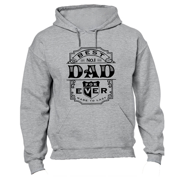 Best No.1 Dad Ever - Hoodie