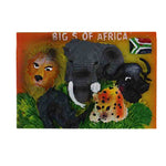Big 5 of Africa - Magnet