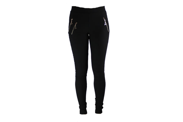 Ladies Long Black Stretch Pants - BuyAbility South Africa