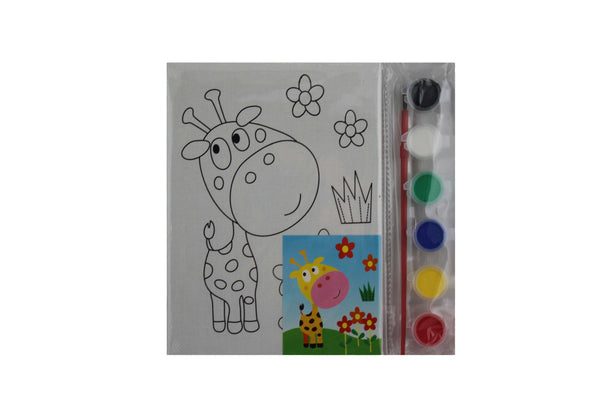 Giraffe - Paint Board Activity - BuyAbility South Africa