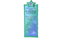 Green Star – Handmade Bookmark with 'I Love you so much' Script - BuyAbility South Africa
