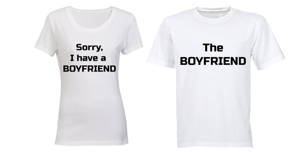 I have a Boyfriend - Couples Tees