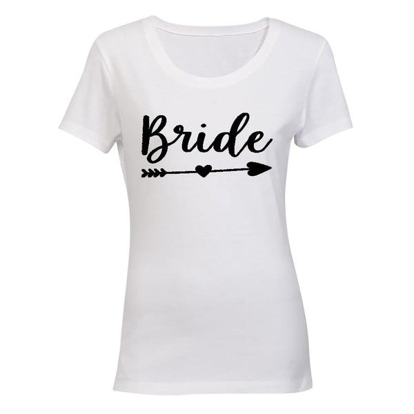 Bride - Heart and Arrow - Ladies - T-Shirt
