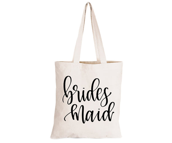 Bridesmaid - Feminine Font - Eco-Cotton Natural Fibre Bag - BuyAbility South Africa