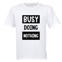 Busy Doing Nothing - Kids T-Shirt - BuyAbility South Africa