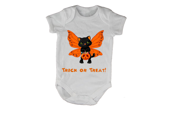 Butterfly Cat - Halloween - Baby Grow - BuyAbility South Africa