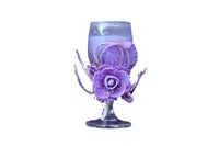 Mini Wine Glass Scented Candles, Purple with Lavender Aroma - BuyAbility South Africa