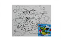 Dragon - Canvas Painting Activity - BuyAbility South Africa