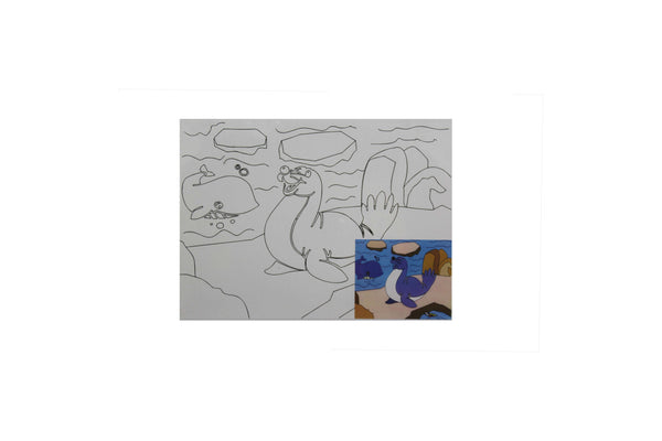Seal - Canvas Painting Activity - BuyAbility South Africa