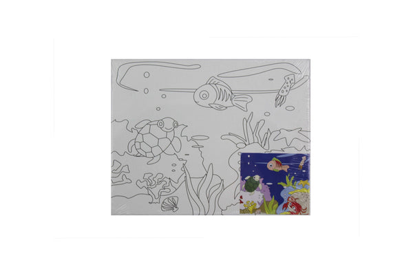 Under the Sea - Canvas Painting Activity