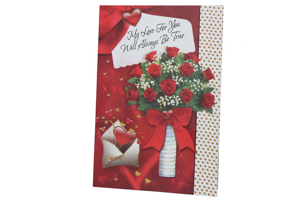 My Love For You Will Always Be True – Valentine's Card - BuyAbility South Africa