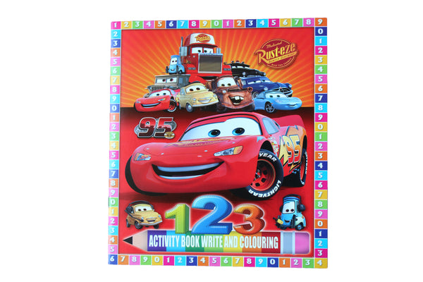CARS – 123 Activity Book - BuyAbility South Africa
