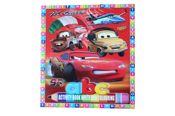 Cars – ABC Activity Book - BuyAbility South Africa