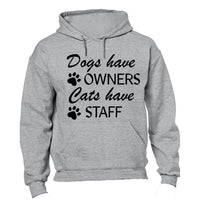 Cats Have Staff - Hoodie - BuyAbility South Africa