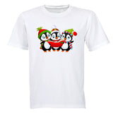 Christmas Carol Penguins - Kids T-Shirt - BuyAbility South Africa