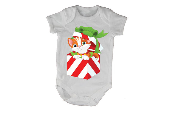 Christmas Kitten Gift - Baby Grow - BuyAbility South Africa