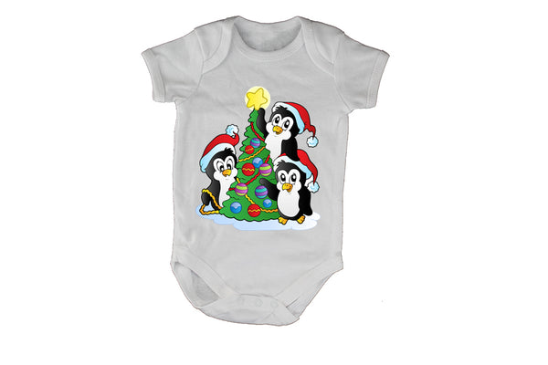 Christmas Penguins - Baby Grow - BuyAbility South Africa