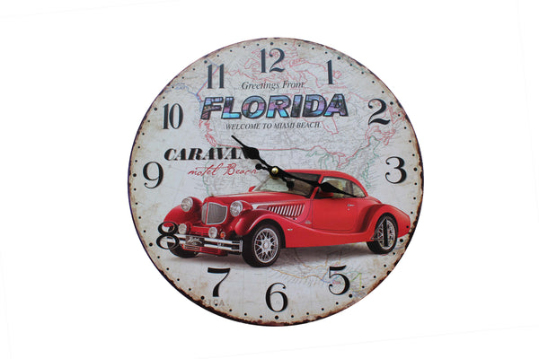 Florida Themed Wall Clock - BuyAbility South Africa