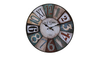 Clock with Old town 1863 Theme - BuyAbility South Africa