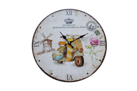 Professional Motorcycle Rider, Country-side – Themed Wall Clock - BuyAbility South Africa