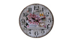 Clock with 'Scott's Roses' Theme - BuyAbility South Africa