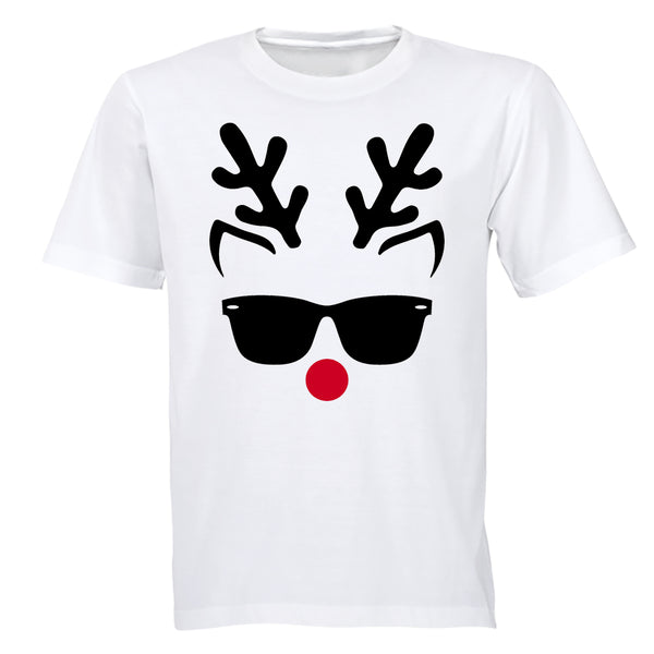 Cool Christmas Reindeer - Adults - T-Shirt - BuyAbility South Africa