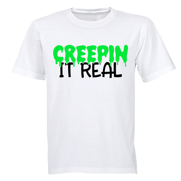 Creepin' It Real - Halloween - Adults - T-Shirt - BuyAbility South Africa