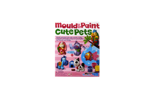 Mould and Paint Cute Pets