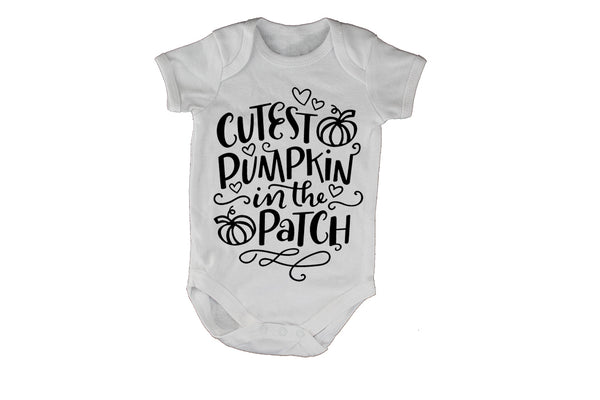Cutest Pumpkin - Halloween - Baby Grow - BuyAbility South Africa